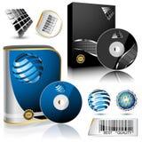 Software-Kasten. Stockbild