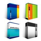 Software-Kasten Lizenzfreie Stockfotos