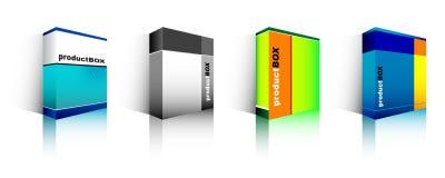 Software-Kasten Lizenzfreie Stockbilder