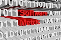 Software metric Royalty Free Stock Images