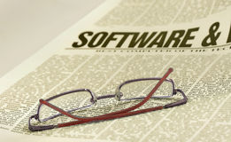 Software news Stock Images