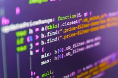 Software-ontwikkeling royalty-vrije stock fotografie