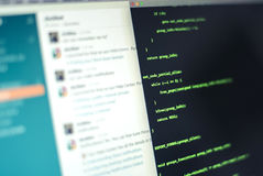 Software-ontwikkeling Royalty-vrije Stock Afbeelding