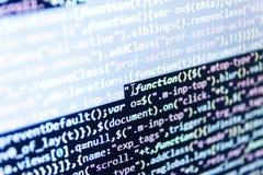 Software-ontwikkeling Grote gegevensopslag en wolk gegevensverwerkingsvertegenwoordiging stock afbeelding
