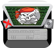 Software piracy Stock Image