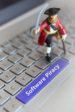 Software Piracy Royalty Free Stock Photography