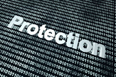 Software protection background Stock Photography