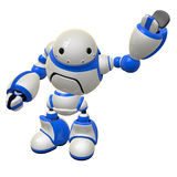 Software Security Concept Robot Waving Left Arm Stock Photos