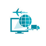 Software for Shipping Company Royalty Free Stock Images
