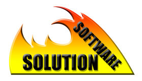 Software solution Royalty Free Stock Photos