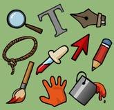 Software-Tool Satz Lizenzfreie Stockbilder