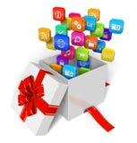 Software y concepto de los multimedia Imágenes de archivo libres de regalías