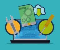 Softwareontwerp Royalty-vrije Stock Afbeelding