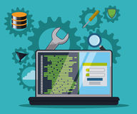 Softwareontwerp Stock Foto's