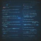 Softwaretechnikhintergrund Lizenzfreie Stockbilder