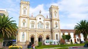 Sogamoso Colombia, catedral de Saint Martin almacen de video