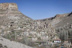 Soganli by i Cappadocia Arkivfoton
