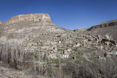 Soganli village in Cappadocia Stock Photography