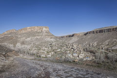 Soganli wioska w Cappadocia Zdjęcie Royalty Free