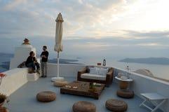 Soggiorno nelle Cicladi La Grecia Fotografie Stock Libere da Diritti