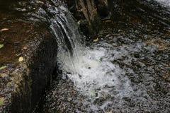 Soglia del fiume Fotografie Stock