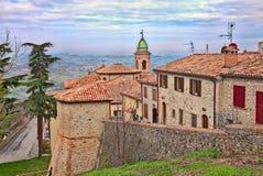 Sogliano al Rubicone, Emilia Romagna, Italy Royalty Free Stock Photography