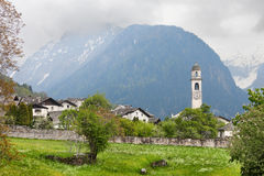 Soglio, Switzerland Royalty Free Stock Images