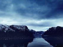 Sogn og fjordane Stock Foto