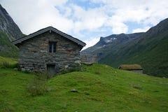 Landscape in Sogn og Fjordane, Norway Royalty Free Stock Photos