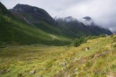 Landscape in Sogn og Fjordane, Norway Stock Image