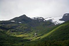 Landscape in Sogn og Fjordane, Norway Stock Images