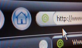Sogna il browser Immagine Stock