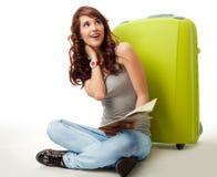Sognando del andare sulla vacanza Immagini Stock Libere da Diritti