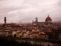 Sognando Firenze/Dreaming Florence Royalty Free Stock Image