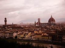 Sognando Firenze/Florencia del sueño Imagen de archivo libre de regalías