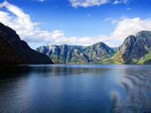 Sogne fjord Stock Images