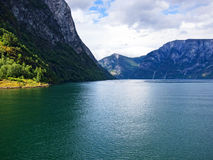Sogne fjord, Norway Stock Photos