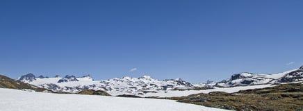 Sognefjellsvegen i Norge Royaltyfri Foto