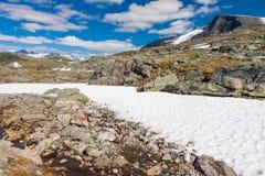 Sognefjellsvegen, Norway, Europe Royalty Free Stock Images