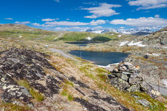 Sognefjellsvegen, Norway, Europe Royalty Free Stock Photography