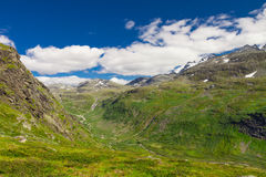 Sognefjellsvegen in Norway, Europe Stock Photography