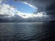 Sognefjord在挪威 库存照片