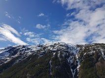 sognefjord Норвегии Стоковое фото RF