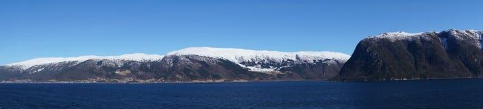 sognefjord Норвегии Стоковое Изображение
