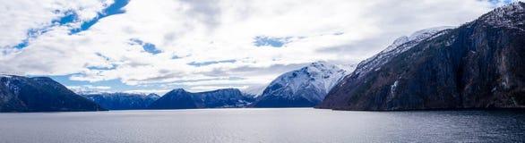 sognefjord Норвегии Стоковые Фотографии RF