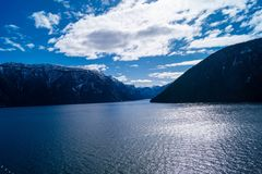 sognefjord Норвегии Стоковая Фотография RF