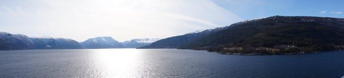 sognefjord Норвегии Стоковые Изображения