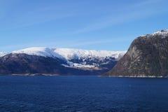 sognefjord Норвегии Стоковое Фото