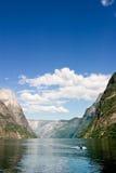 sognefjord Норвегии Стоковая Фотография