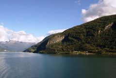 sognefjord Fotografia Stock